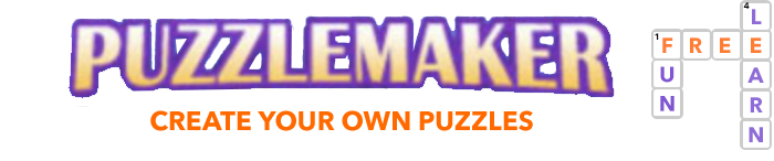 Puzzlemaker Home